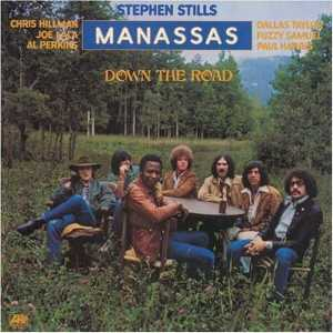 Manassas, Down The Road, front cover