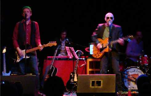 Mike Gent and Graham Parker