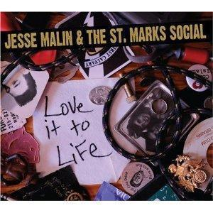 Jesse Malin & The Saint Marks Social - Live It To Life
