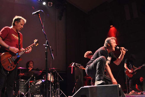 Jello Biafra and the GSM by Femke van Delft, 2010