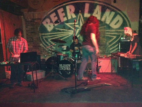 Bloody Knives at Beerland