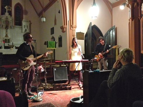 Slowness's Geoffrey Scott, Julie Lynn & Sean Eden @ Church of the Ascension