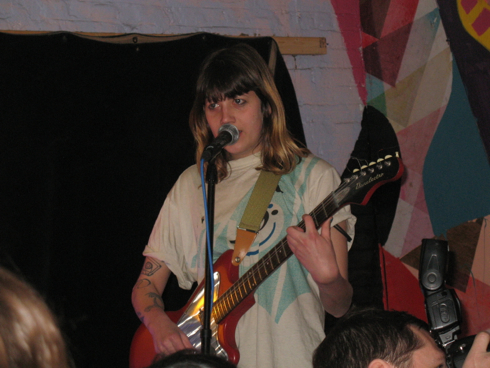 Vivian Girls' Cassie Ramone @ Death By Audio