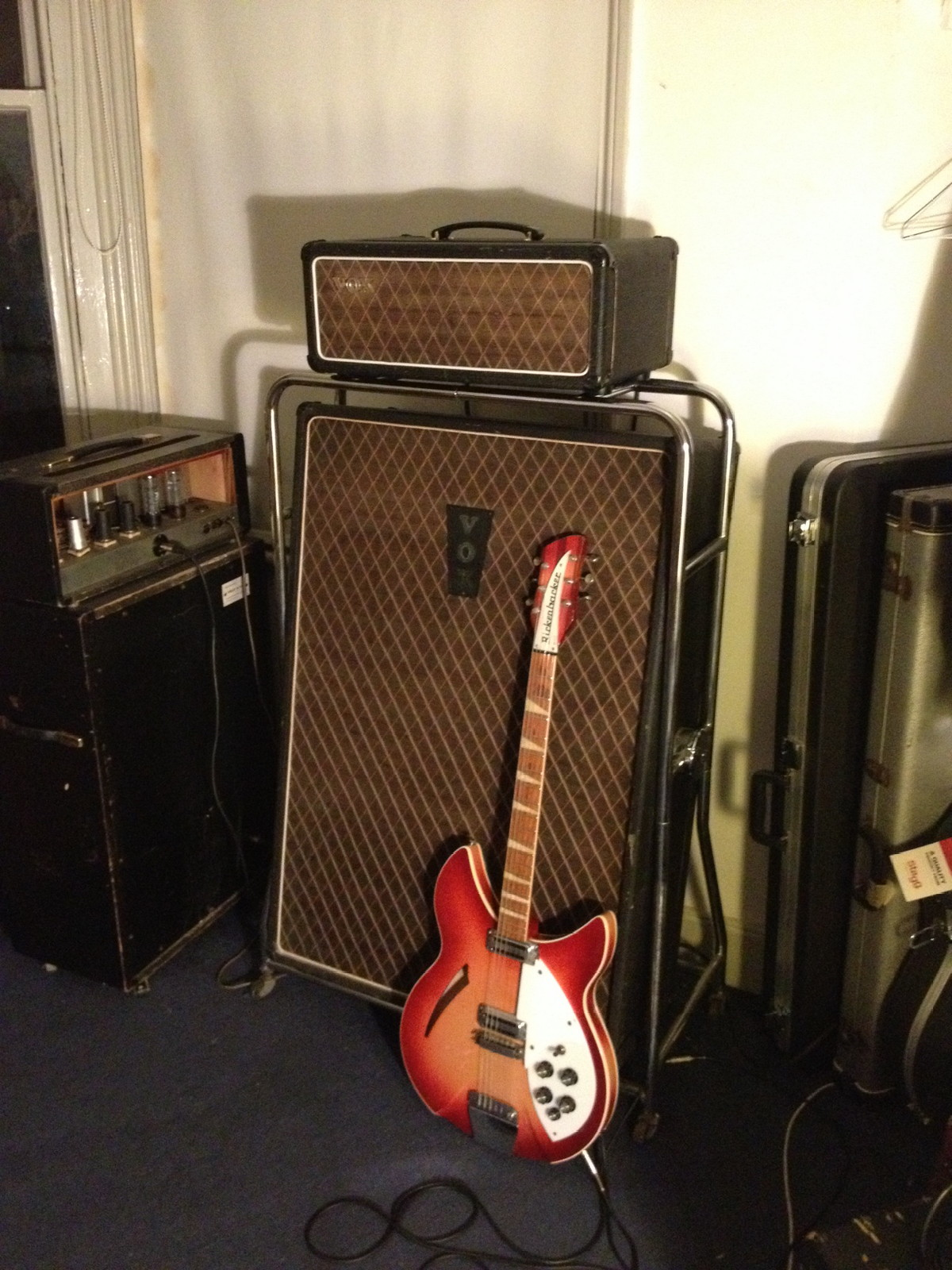 Rickenbacker owned by James.