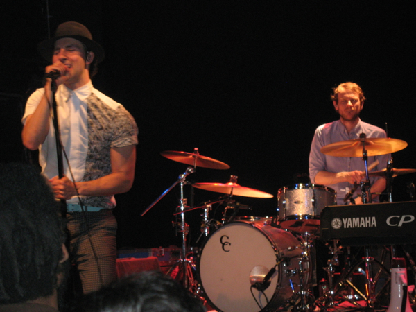 Maximo Park's Paul Smith & Tom English @ Gramercy Theater
