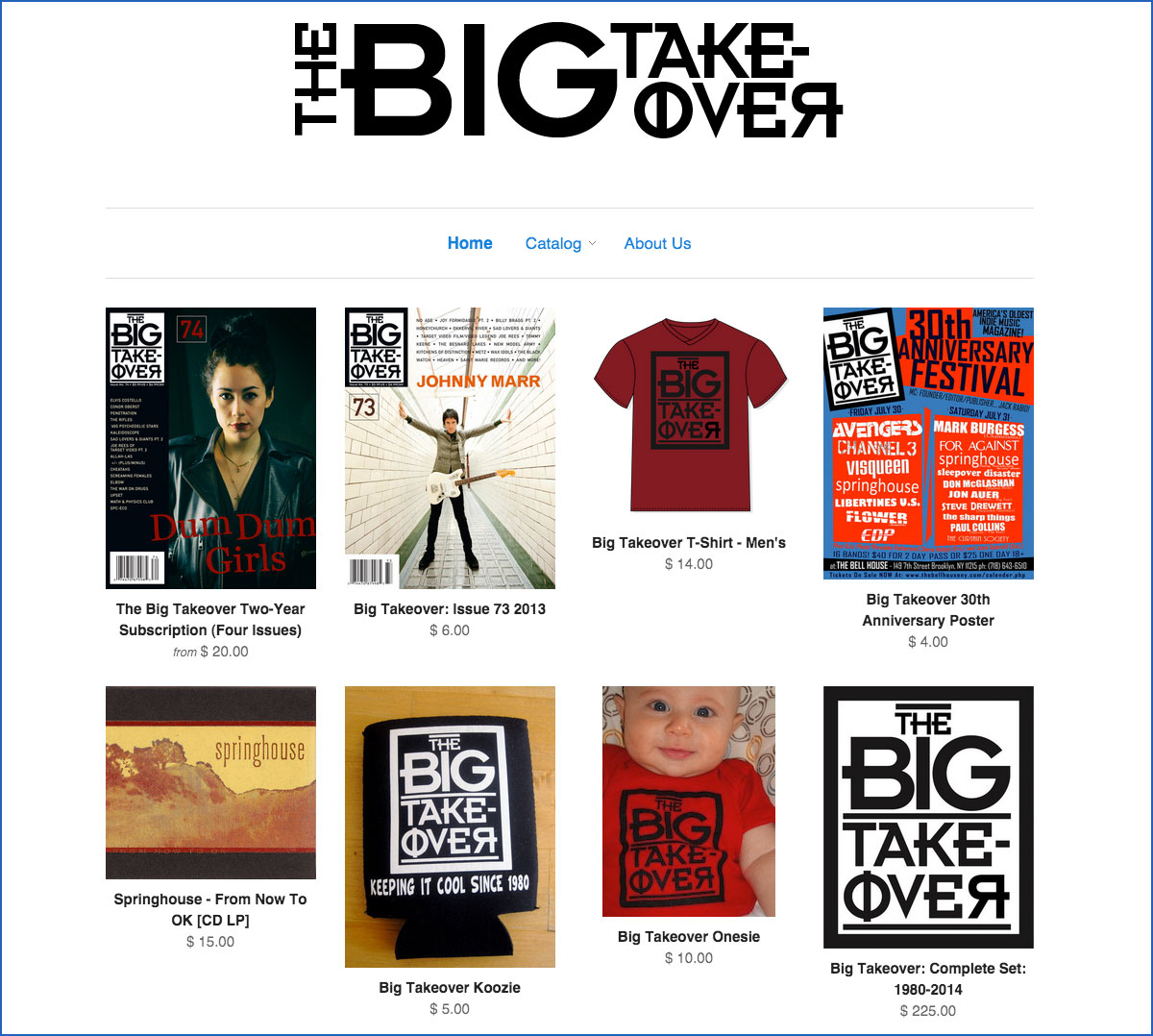 The Big Takeover Store