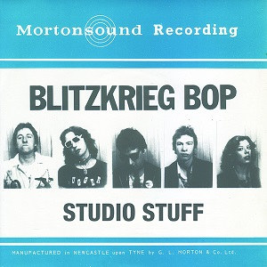 Blitzkrieg Bop Studio Stuff Rave Up White Zoo