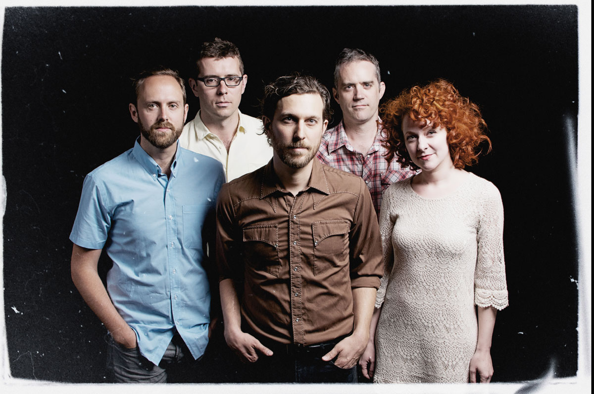 Great Lake Swimmers photo by Marina Manushenko