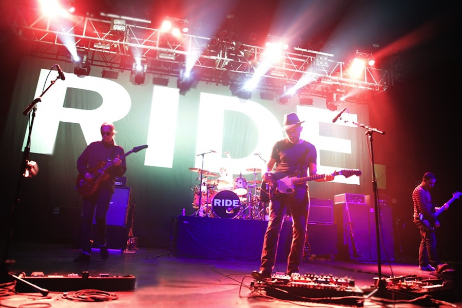 Ride performing at the Riviera Theater in Chicago, September 25, 2015.