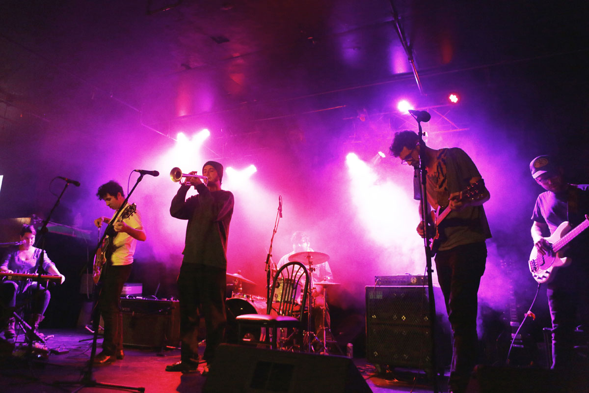 Calisse playing live at Dante's in Portland Sept 30, 2015