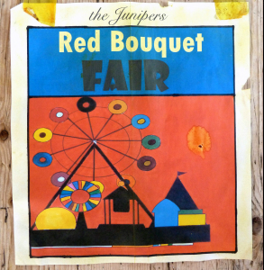 Album cover for Red Bouquet Fair by The Junipers.