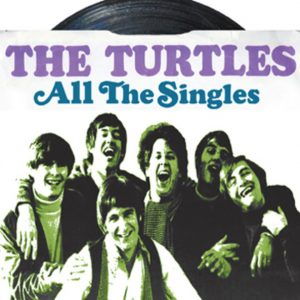 Album cover for All The Singles from The Turtles.