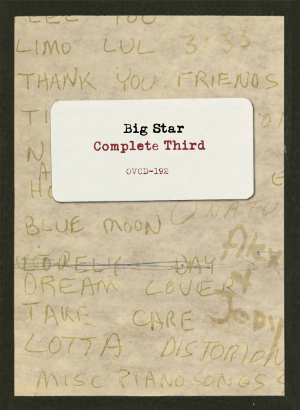 Album cover for Big Star's Complete Third album.