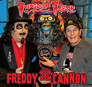 Freddy Boom Boom Cannon The Gears Svengoolie Stomp Wondercap