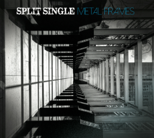 Album cover for Split Single's new album Metal Frames.