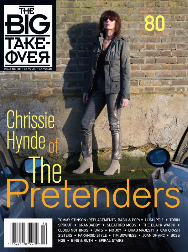 Big Takeover #80 magazine - Chrissie Hynde 2