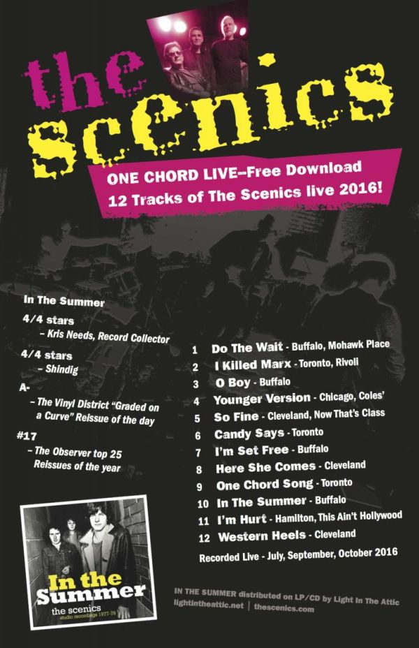 The Scenics - One Chord Live