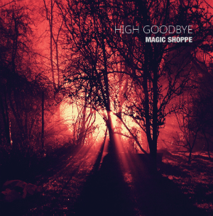 Album cover for Magic Shoppe's High Goodbye EP.