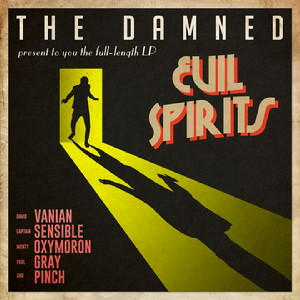 Evil Spirits album art by The Damned.