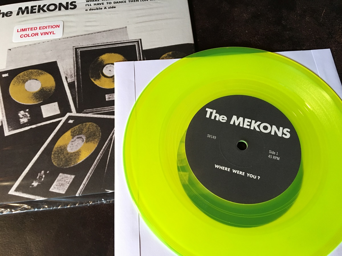 Mekons - Where Were You? vinyl