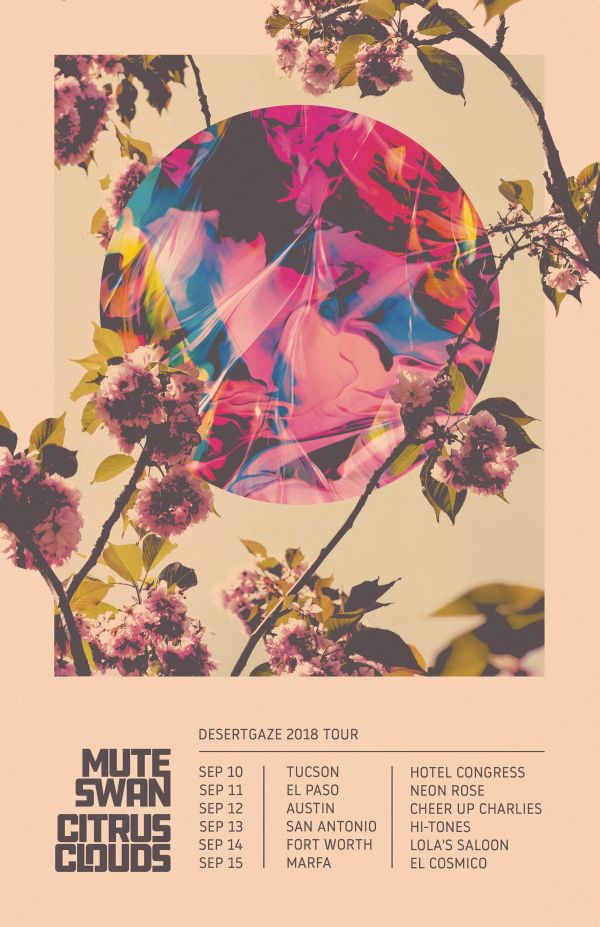DesertGaze Tour Poster