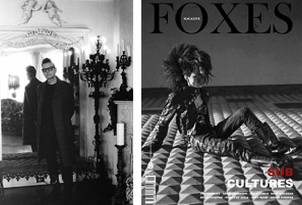 Kevin haskins and Foxes Magazine