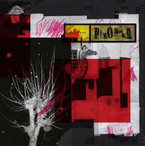 Cover art for Brickbat by UK supergroup Piroshka
