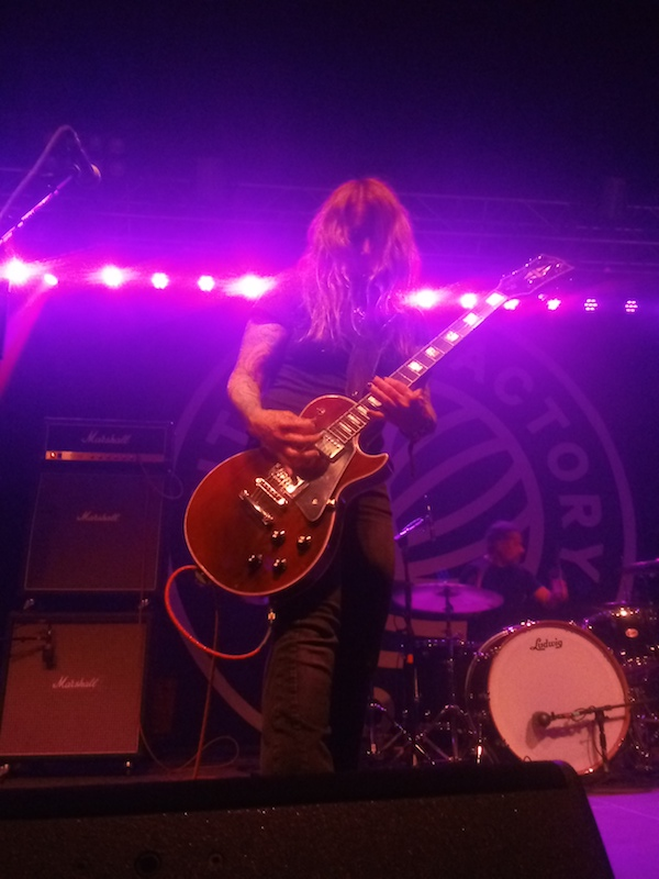 Acid King guitarist/vocalist Lori S. performs at the Knitting Factory in Boise on March 22, 2019, as part the Treefort Music Fest.