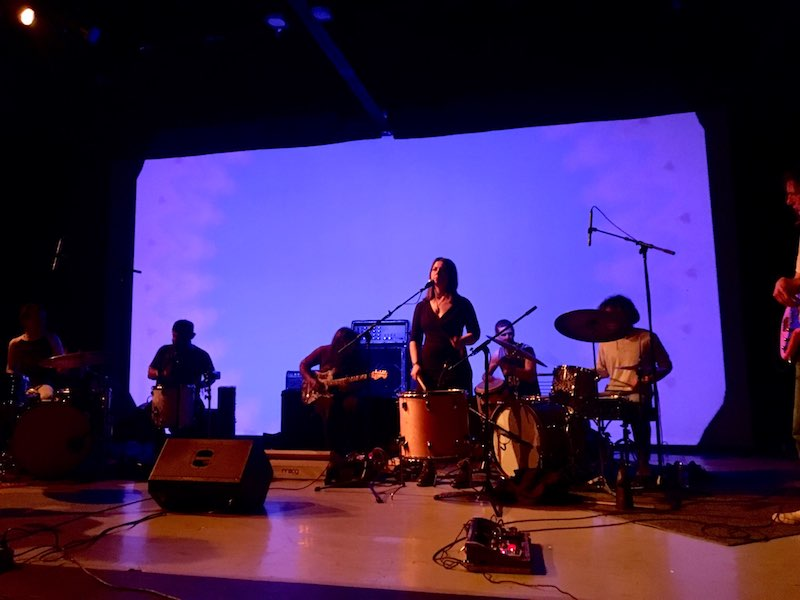 """Brett Netson, members of Weeed and others perform as part of a three-hour """"Face-Melt"""" improvised program at the Boise Contemporary Theater on March 23, 2019, as part of the Treefort Music Fest."""