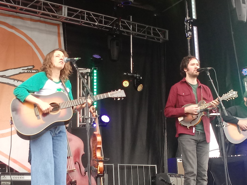 Mandolin Orange perform at the Main Stage on March 24, 2019, as part of the Treefort Music Fest in Boise.