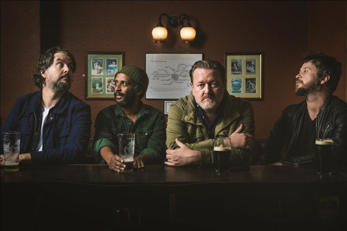 The band Elbow, 2019.
