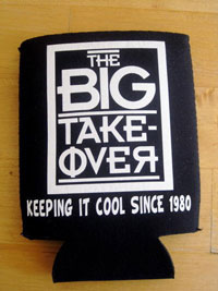 Big Takeover Beer Cozy