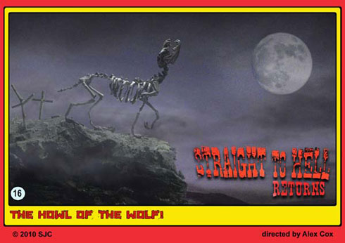 Skeletal wolf by Webster Colcord