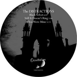 The Distractions - Black Velvet EP (Occultation U.K.)