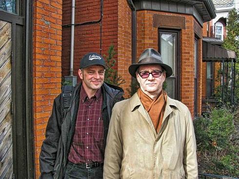 Robert and Allen, provided by Robert Wheeler