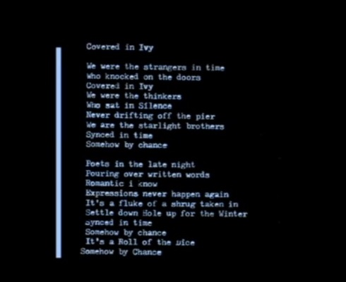 """Covered in Ivy"" lyrics"