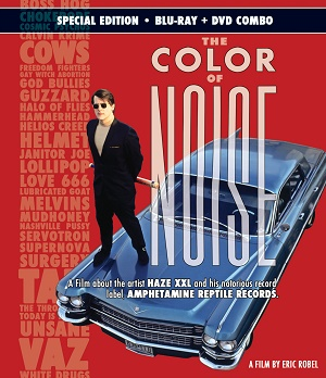 The Color of Noise HAZE XXL Amphetamine Reptile Eric Robel MVD