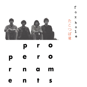 Album cover for Foxhole from The Proper Ornaments.