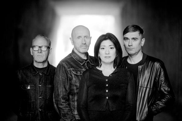 L to R: Mick Conroy, Moose, Miki Berenyi, Justin Welch of Piroshka - Photo Credit: Neil Stewart