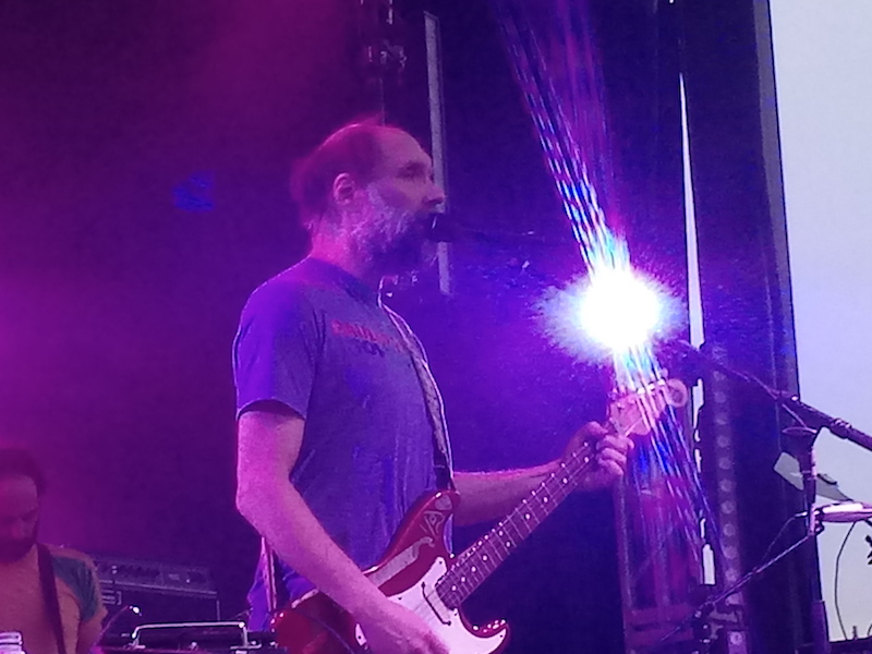 Built to Spill performs at the Main Stage at the Treefort Music Fest in Boise on March 21, 2019.