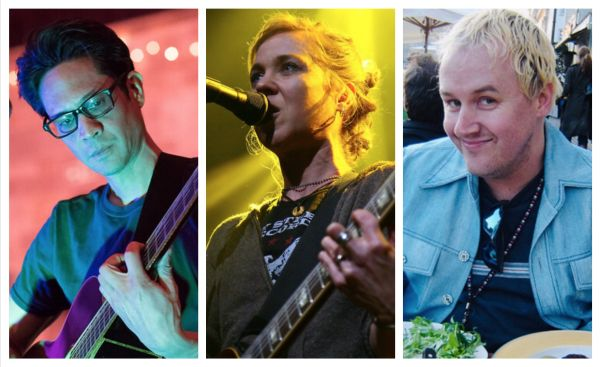 Fred Abong, Kristin Hersh, and Rob Ahlers