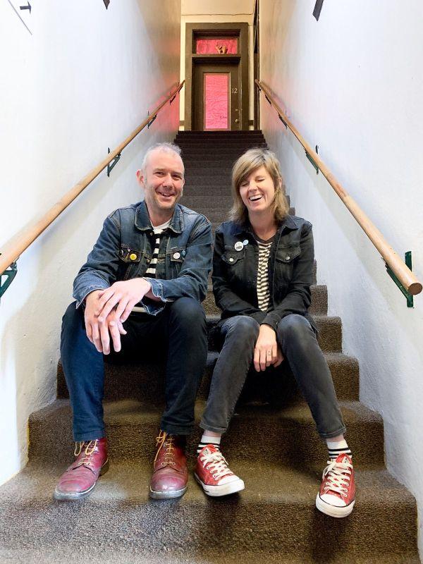 Stewart Anderson and Christina Riley of Boyracer - Photo Credit: Mario Hernandez