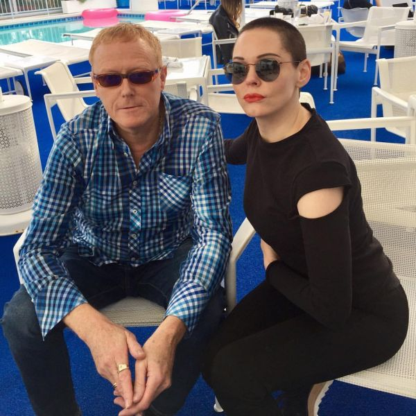 David J and Rose McGowan - Photo Credit: S.T.R. Anger