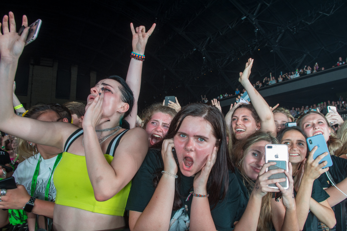 Billie Eilish Audience - Minneapolis Armory