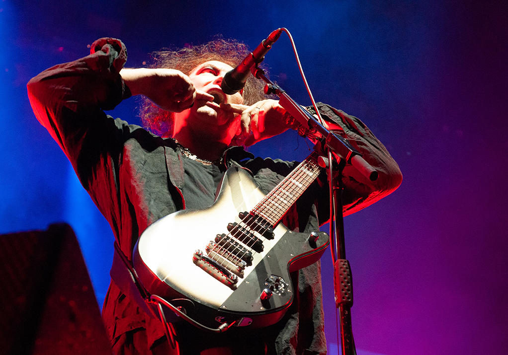 Robert Smith at Pasadena Daydream by Cecilia Fonseca