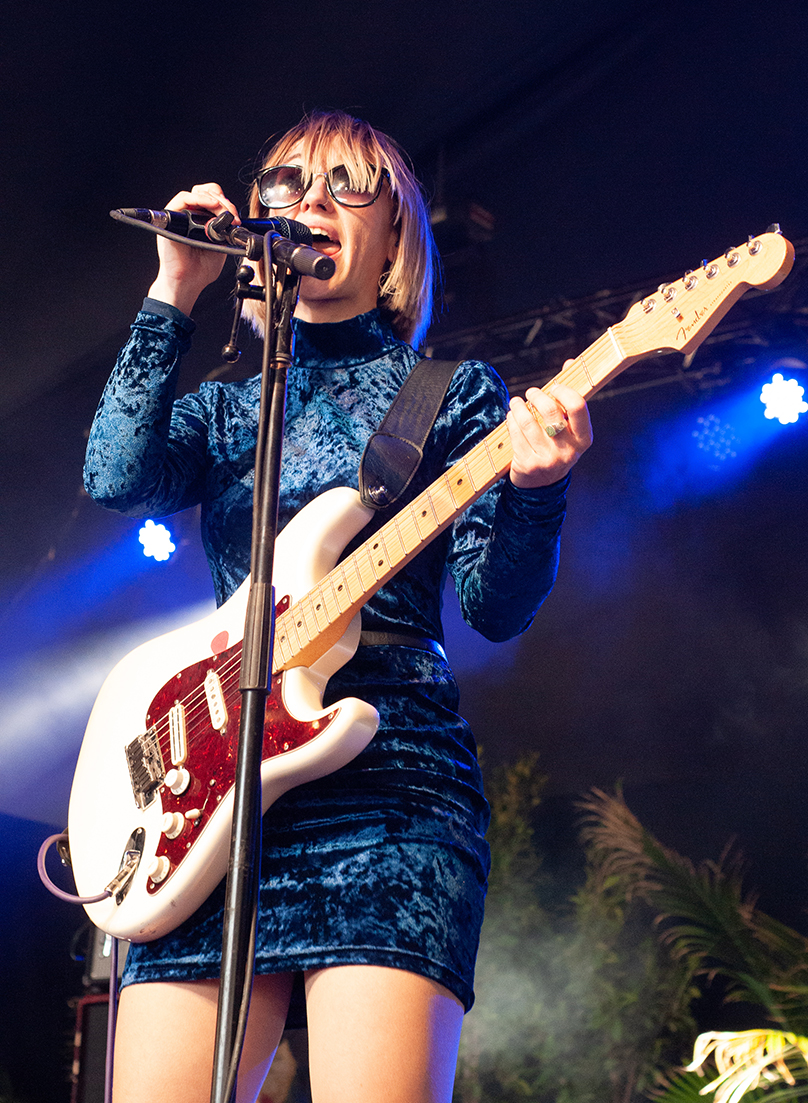 The Joy Formidable at Pasadena Daydream by Cecilia Fonseca