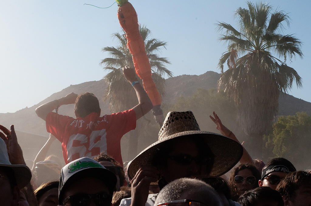 Carrot Guy at Desert Daze 2019