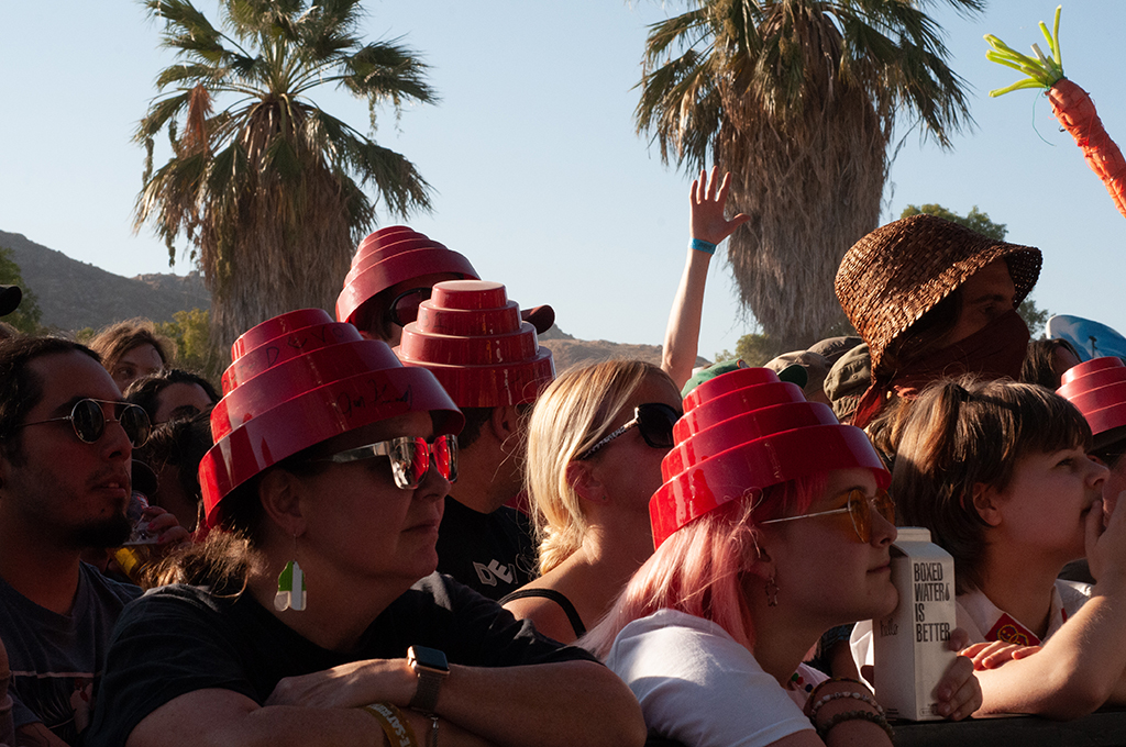 Devo Fans at Desert Daze 2019