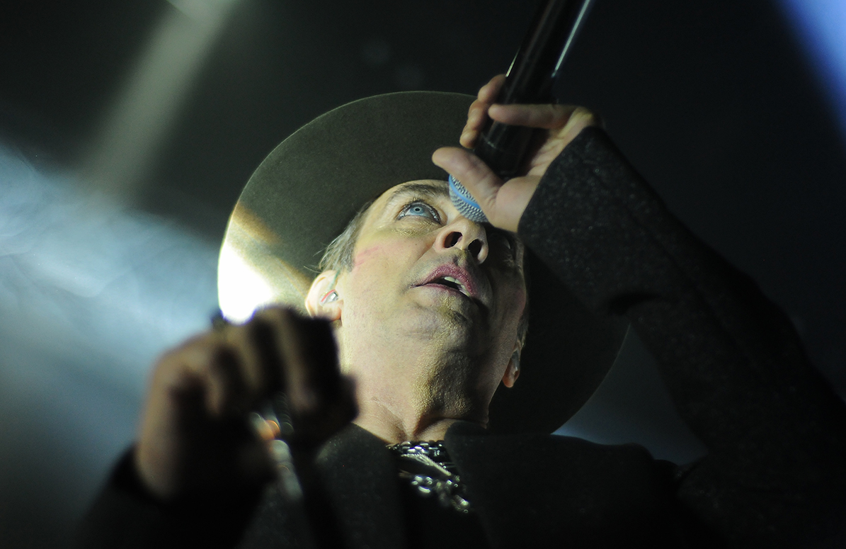 Peter Murphy of Bauhaus - photo by Cecilia Fonseca