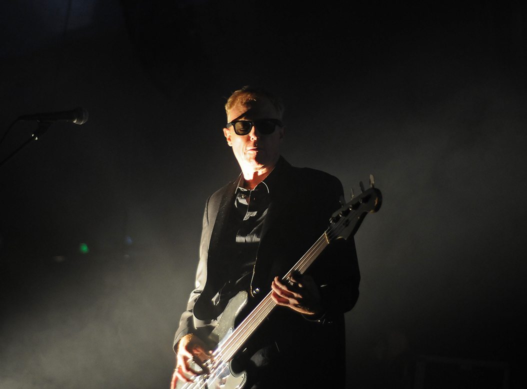 David J of Bauhaus - photo by Cecilia Fonseca